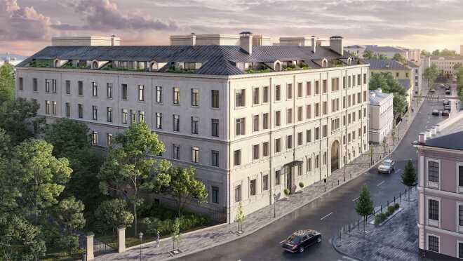 Клубный дом «Абрикосов» Элитная новостройка в центре Москвы